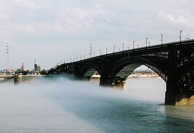 Photograph - Eads Bridge St. Louis Missouri by Dylan Murphy