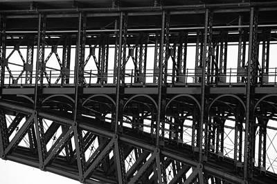 Photograph - Eads Bridge by Steve Stuller