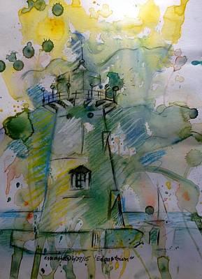 Edgartown Lighthouse Art Print by Elaine Marie