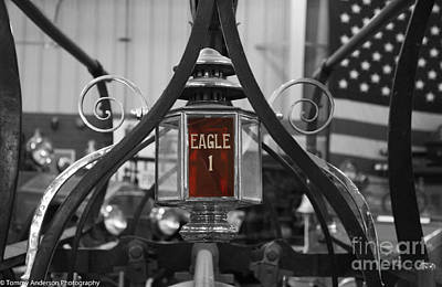 Farmhouse Rights Managed Images - Eagle 1 Royalty-Free Image by Tommy Anderson