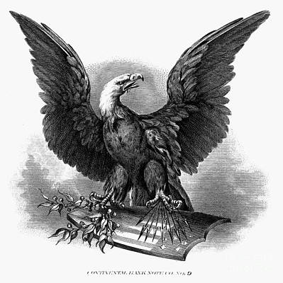 Photograph - Eagle, 1870 by Granger