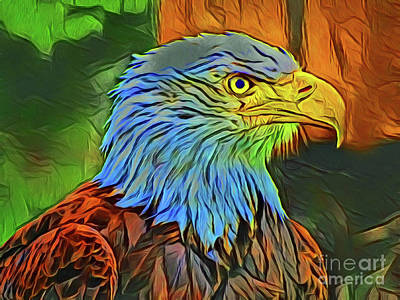 Photograph - Eagle 20818 by Ray Shrewsberry