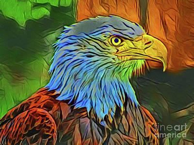Photograph - Eagle 20818 by Ray Shrewsberry