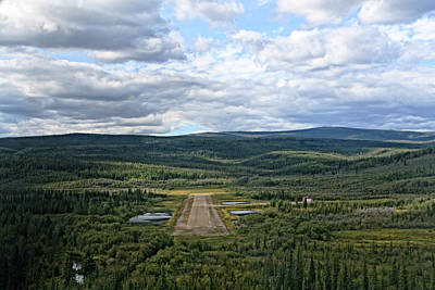 Photograph - Eagle Airport Alaska by Waterdancer