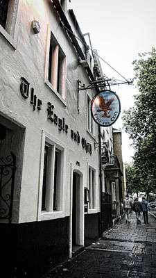 Tolkien Photograph - Eagle And Child Pub - Oxford by Stephen Stookey