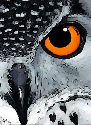 Eagle Art Art Print