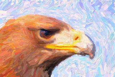 Digital Painting - Eagle by Asar Studios