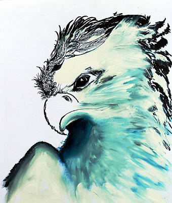 Painting - Eagle  by Ayasha Loya