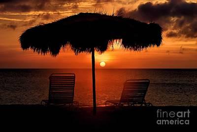 Photograph - Eagle Beach Sunset by DJ Florek