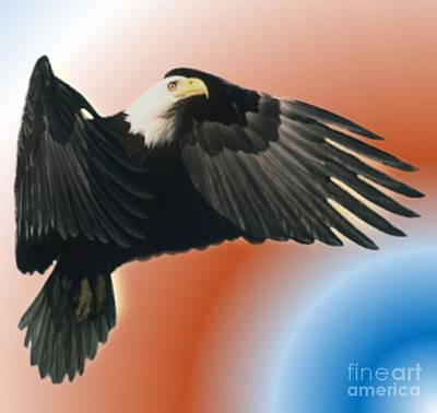 Painting - Eagle by Belinda Threeths