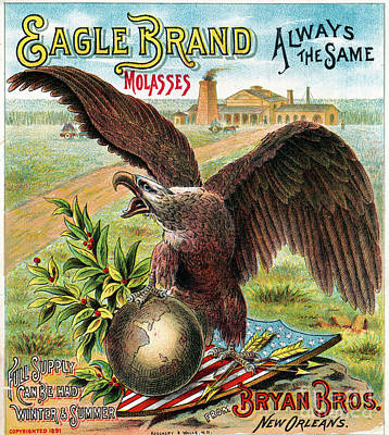 Photograph - Eagle Brand Molasses.  by Granger