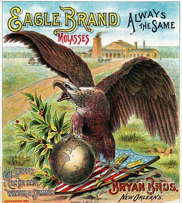 Photograph - Eagle Brand Molasses.  by Granger