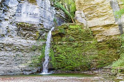 Photograph - Eagle Cliff Falls 1 by William Norton