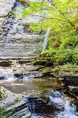 Photograph - Eagle Cliff Falls Basin by William Norton