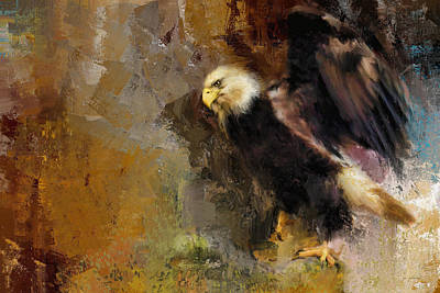 Painting - Eagle Dance by Jai Johnson
