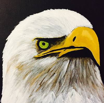 Painting - Eagle Eye by Chris Bishop
