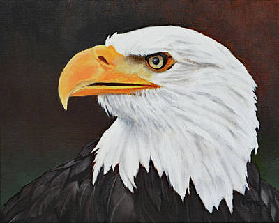 Painting - Eagle Eye by Jimmie Bartlett
