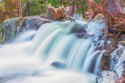 Photograph - Eagle Falls Cascade by Marc Crumpler