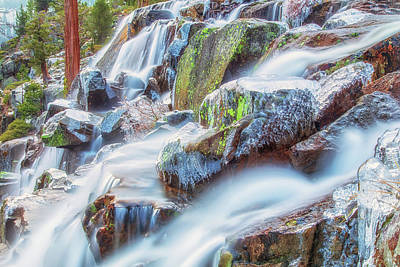 Photograph - Eagle Falls Flow by Marc Crumpler