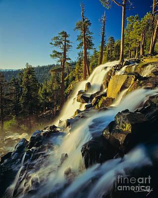 Eagle Falls Lake Tahoe Art Print by Vance Fox
