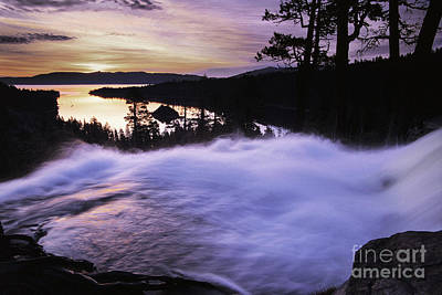 Island Lake Tahoe Photograph - Eagle Falls Morning by Buck Forester