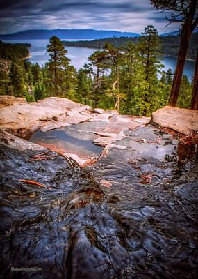 Photograph - Eagle Falls To Emerald Bay Lake Tahoe by LeeAnn McLaneGoetz McLaneGoetzStudioLLCcom