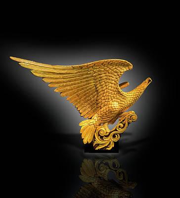 Photograph - Eagle Figure Head  by Gary Warnimont