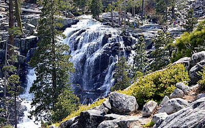 Photograph - Eagle Falls by AJ  Schibig