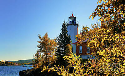 Photograph - Eagle Harbor Autumn Gold by Rachel Cohen