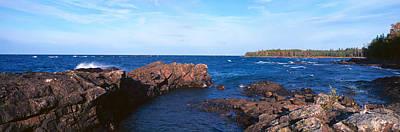 Eagle Harbor, Lake Superior, Michigan Art Print by Panoramic Images