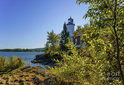 Photograph - Eagle Harbor Lighthouse 3 by Rachel Cohen