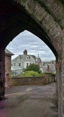 Photograph - Eagle House From North Gatehouse Launceston Castle by Richard Brookes