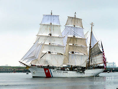 Photograph - Uscgc Eagle  by Janice Drew