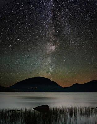 Eagle Lake And The Milky Way Art Print