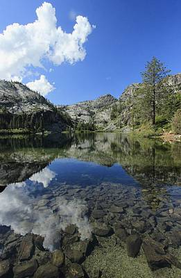 Photograph - Eagle Lake Dimensions by Sean Sarsfield