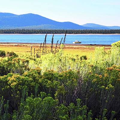 Photograph - Eagle Lake In Lassen County by Kirsten Giving
