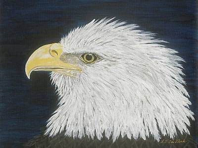 Painting - Eagle by Lucinda VanVleck
