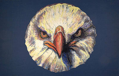Painting - Eagle by Mary Motola