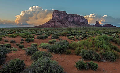 Photograph - Eagle Mesa Storm Clouds by Loree Johnson
