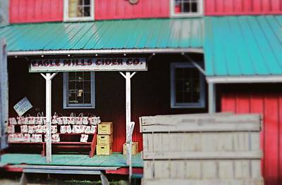 Photograph - Eagle Mills Cider by Rodney Lee Williams