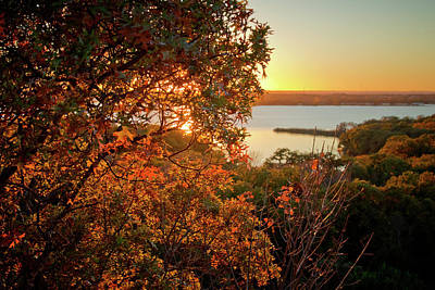 Photograph - Eagle Mountain Park Overlook by Linda Unger