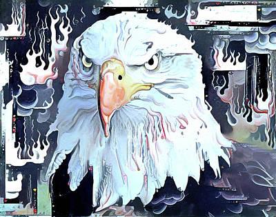 House Pet Digital Art - Eagle Native by Yury Malkov