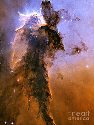 Photograph - Eagle Nebula - Heavenly Body by Merton Allen