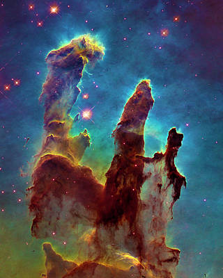 Photograph - Eagle Nebula by Paul W Faust - Impressions of Light
