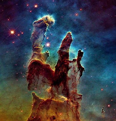Photograph - Eagle Nebula Pillars Of Creation by Weston Westmoreland