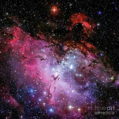 Katharine Hepburn - Eagle Nebular by Louie Navoni