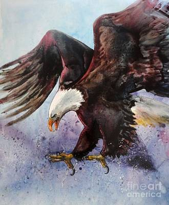 Eagle Of Light Art Print