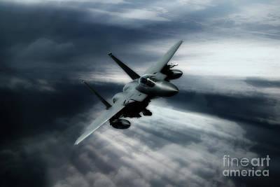 Grim Digital Art - Eagle Reaper by J Biggadike