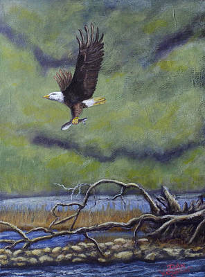 Painting - Eagle River by Dan Wagner