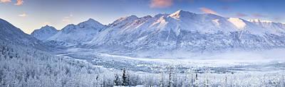 Alaska Photograph - Eagle River Valley Two by Ray Bulson